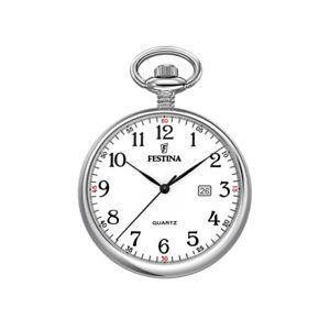 【送料無料】腕時計 ウォッチチェーンポケットウォッチfestina f20191 taschenuhr mit kette, datum