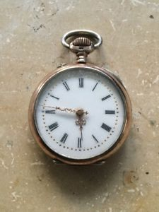 【送料無料】腕時計 ウォッチアンティークシルバーレディースレディスウオッチポケットウォッチ