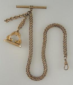 【送料無料】腕時計 ウォッチアンティークゴールドシールウォッチチェーンantique gold plated watch chain with a fancy seal circa 1890