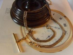 【送料無料】腕時計 ウォッチポケットチェーンアンティークビクトリアローズゴールドスライドバーウォッチ