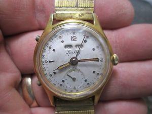 【送料無料】腕時計 ウォッチビンテージバークリーカレンダーボタンスティックウォッチ