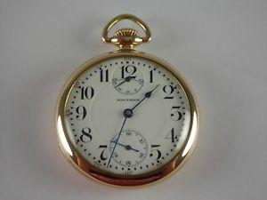 【送料無料】腕時計 ウォッチアンティークウォルサムインジケータゴールド