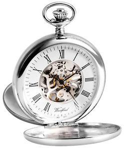 腕時計 ウォッチウッドフォードスターリングシルバーツインスケルトンポケット
