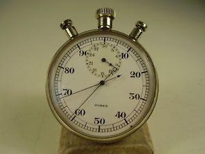 腕時計 ウォッチアンティークフーバーミネルヴァキャリバークロノグラフストップウォッチポインタantike huber minerva stoppuhr schleppzeiger chronographenkaliber1925 vor 1945