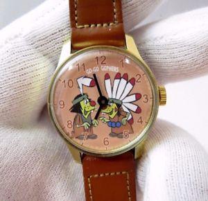 【送料無料】腕時計 ウォッチゴーマニュアルミントgogo gophers manual wind,70s midsize rare mint character watch,m28,lk
