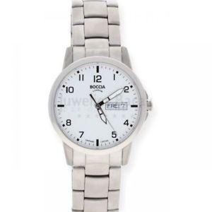 【送料無料】腕時計 ウォッチチタンクラシックメンズウォッチboccia herrenuhr titan 60409 klassik 109