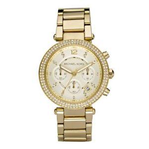 【送料無料】腕時計 ウォッチミハエルクリスタルクロノグラフmichael kors womens crystal chronograph watch 5354