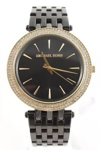 【送料無料】腕時計 ウォッチミハエルレディースゴールドレディースアナログブラックカラーウォッチ