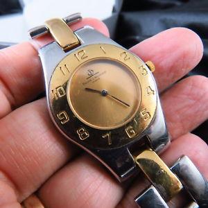 腕時計 ウォッチスイススチールメルシエクォーツレディウォッチボックスswiss made all steel baume amp; mercier quartz lady watch w box free shipping