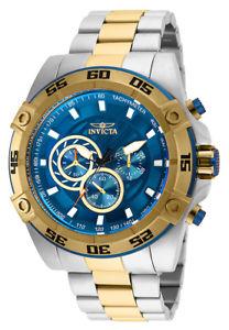 【送料無料】腕時計 ウォッチメンズスピードウェイクォーツクロノメートルトーンステンレススチールinvicta mens speedway quartz chrono 100m two tone stainless steel watch 25538