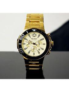 【送料無料】腕時計 ウォッチメンズステンレススチールファッションウォッチprecimax mens instinct pro px14012 gold stainlesssteel plated fashion watch