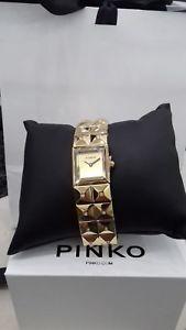 【送料無料】腕時計 ウォッチオロゴールドドナorologio pinko pk2322l03 acciaio oro gold cristalli donna listino 210