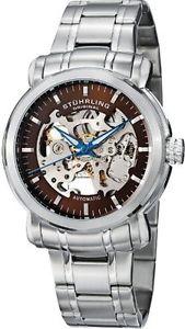 【送料無料】腕時計 ウォッチオリジナルメンズデルファイスケルトンウォッチstuhrling original mens 387 331159 delphi antium automatic skeleton watch