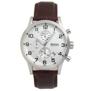 【送料無料】腕時計 ウォッチヒューゴボスメンズレザークロノグラフウォッチoriginal hugo boss herrenuhr leder hb 151447 chronograph neu amp; ovp