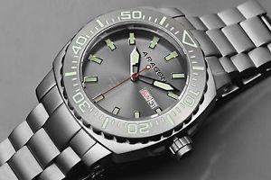 【送料無料】腕時計 ウォッチアラゴンパルマウォッチaragon a155gry parma automatic 48mm watch