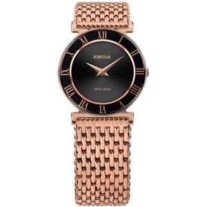 【送料無料】腕時計 ウォッチローマゴールドローズトーンスチールブレスレットウォッチjowissa womens roma 31mm rose goldtone steel bracelet quartz watch j2229m