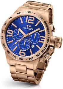 腕時計 ウォッチスチールメンズローズゴールドウォッチtw steel cb184 mens rose gold 50mm canteen watch  2 years warranty