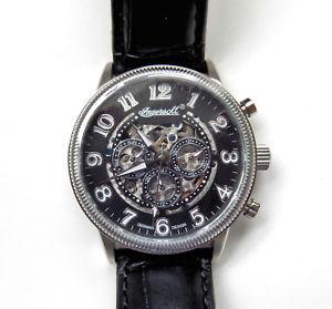 【送料無料】腕時計 ウォッチゲントカレンダーウォッチ gents ingersoll tipico automatic calendar watch in7218bk lt ed 02072999