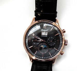 【送料無料】腕時計 ウォッチゲントバイロンカレンダーエド gents ingersoll byron automatic calendar watch in1404rbk lt ed