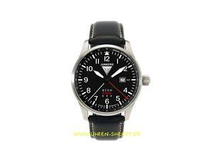 【送料無料】腕時計 ウォッチフライングクロノヒューゴタイムゾーングリニッジjunkers fliegerchrono 66442 hugo junkers mit datum 2 zeitzone gmt 24h 5atm