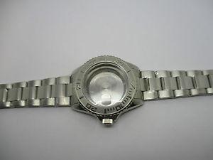 【送料無料】腕時計 ウォッチタイプブレスレットboitier type gmt 40mm avec son bracelet oyester en acier pour eta 28242 tanche