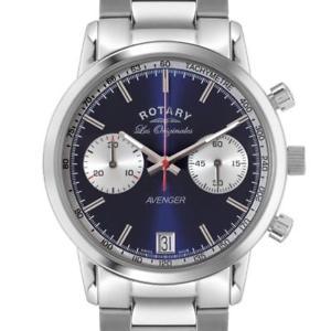 【送料無料】腕時計 ウォッチロータリーメンズスイスレオリジナルクロノ¥rotary gb9013005 mens swiss made les originales avenger chrono watch rrp 425