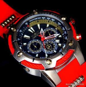 腕時計 ウォッチアイアンマンマーベルボルトクロノグラフinvicta marvel bolt iron man 52mm limited chronograph red gold plated watch