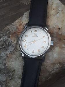 【送料無料】腕時計 ウォッチビンテージメンズスイススワンレコードステンレスvintage mens 1950s swiss swan record longines hand wind watch cal 640 stainless