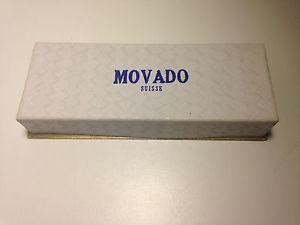 腕時計 ウォッチクロノグラフボックスultra rare chronograph movado m95 watch box