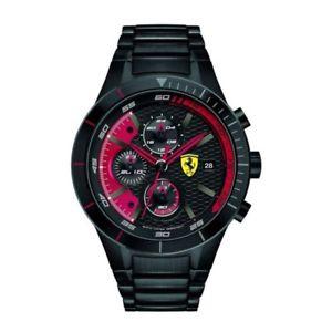 【送料無料】腕時計 ウォッチスクーデリアフェラーリブラックリビジョンアナログウォッチ