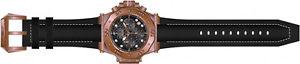 腕時計 ウォッチメンズクロノグラフmkローズゴールドスチールブラックレザーウォッチ