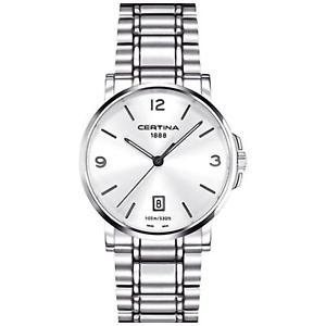 腕時計 ウォッチスチールブレスレットメンズクォーツウォッチcertina mens ds caimano 38mm steel bracelet quartz watch c0174101103700
