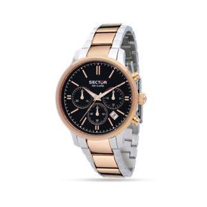 【送料無料】腕時計 ウォッチセクタークロノグラフステンレススチールorologio sector 640 chronograph stainless steel r3273693001
