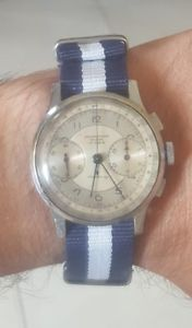 腕時計 ウォッチベルbelle montre chronographe suisse chronomtre montre ancienne