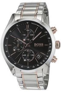 腕時計 ウォッチヒューゴボスメンズトーングランプリウォッチ hugo boss hb 1513473 mens two tone grand prix watch  2 year warranty