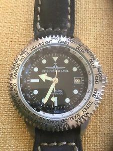 【送料無料】腕時計 ウォッチゼノバーゼルモデルorologio zeno watch basel modello worldtime gmt as 1913