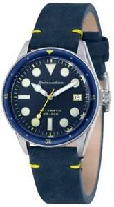 【送料無料】腕時計 ウォッチヴィンテージspinnaker cahill vintage watch  blue:hokushin