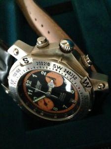 【送料無料】腕時計 ウォッチクロノグラフメンズウォッチhand wound mens poljot chronograph watch