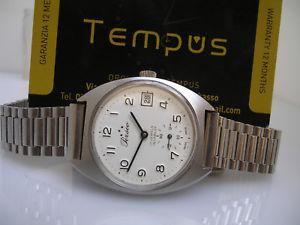 【送料無料】腕時計 ウォッチマニュアルジュエルperseo ferrovie dello stato anni 70 manuale 17 jewels orologio uomo