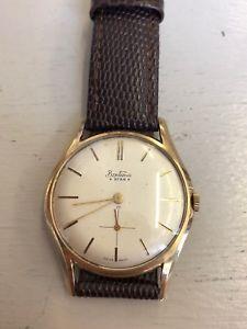 【送料無料】腕時計 ウォッチヴィンテージゴールドスターvintage 9ct gold gents bentima star wristwatch