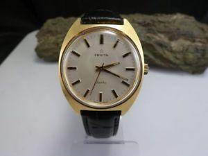腕時計 ウォッチステンレススチールビンテージzenith sporto herrenuhr handaufzug edelstahl vintage