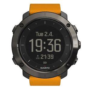 【送料無料】腕時計 ウォッチオレンジsuunto ss021844000 traverse amber wristwatch
