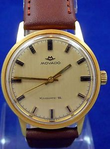 【送料無料】腕時計 ウォッチオリジナルビンテージキングサービスexcellent original vintage men 1970s movado kingmatic watch service cal 380 run