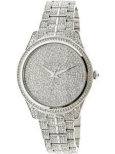 【送料無料】腕時計 ウォッチミハエルシルバーステンレススチールファッションウォッチmichael kors womens lauryn mk3717 silver stainlesssteel fashion watch