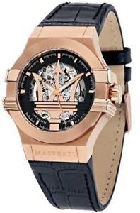 【送料無料】腕時計 ウォッチマセラティマセラティポテンザゴールドローズmaserati potenza automatic watch in rose gold