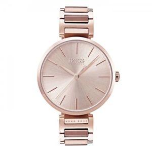 【送料無料】腕時計 ウォッチヒューゴボスゴールドレディースローズウォッチhugo boss damenuhr allusion 1502418 rosgoldfarben