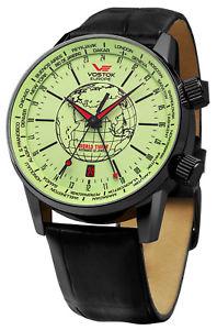 【送料無料】腕時計 ウォッチボストークヨーロッパワールドタイマーウォッチvostok europe world timer automatikuhr 5604240