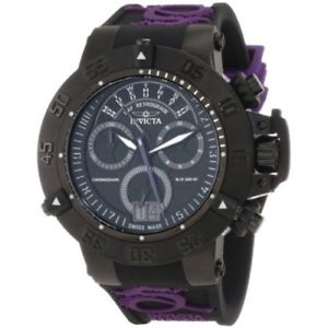 【送料無料】腕時計 ウォッチシリコンクロノグラフウォッチinvicta subaqua 10190 silicone chronograph watch