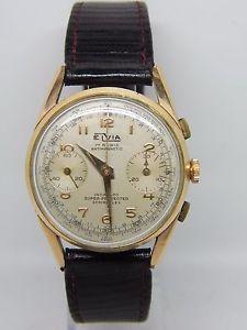 【送料無料】腕時計 ウォッチプチプラークヴィーナスヴィンテージクロノpetit chronographe 32mm elvia plaqu or mouvement venus 210,vintage chrono