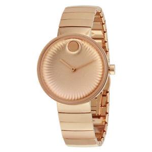 【送料無料】腕時計 ウォッチエッジローズゴールドトーンステンレススチールウォッチmovado edge rose gold tone stainless steel watch 3680013
